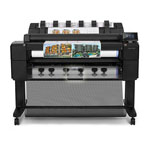 HPHP DesignJet T2500 Multifunction Printer series