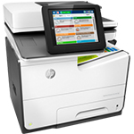 HPPageWide Enterprise Color MFP 586f