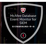 McAfeeMcAfee Database Event Monitor for SIEM
